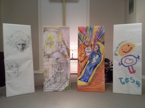 2014-12-24 Advent Art Panels - close