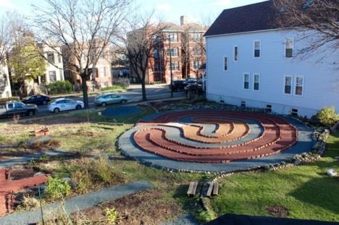 KAC prayer garden
