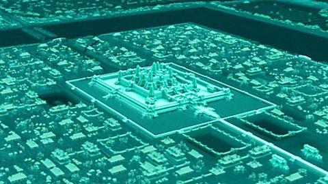 Angkor Wat laser scan