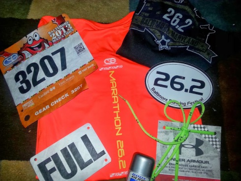 "Image result for baltimore marathon back bib ""full"""