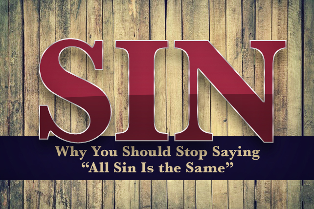 Image result for all sins are not the same